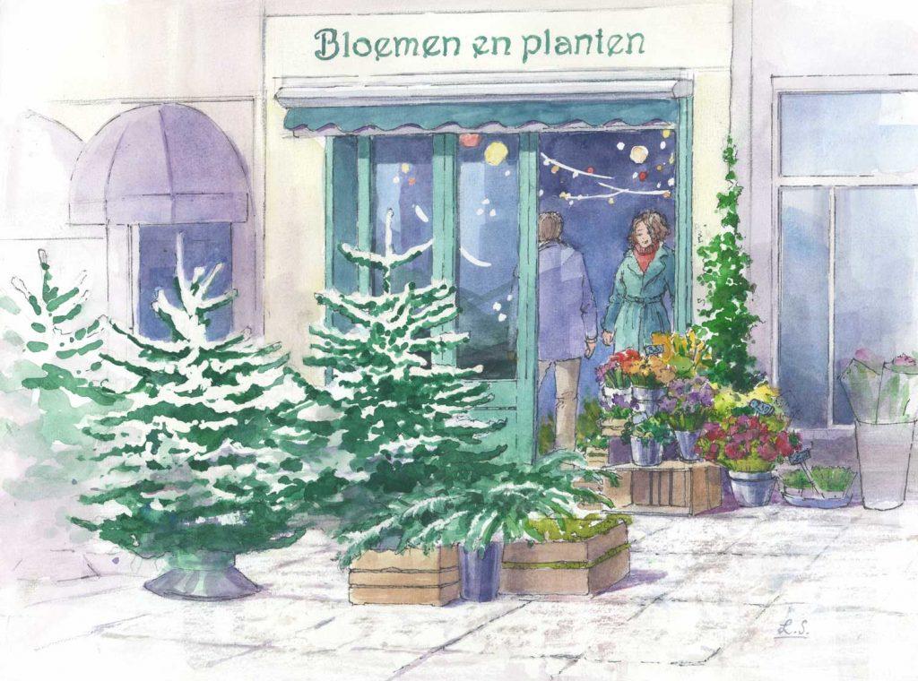 Illustratie Kerstverhalen De kerstboom die niet versierd werd
