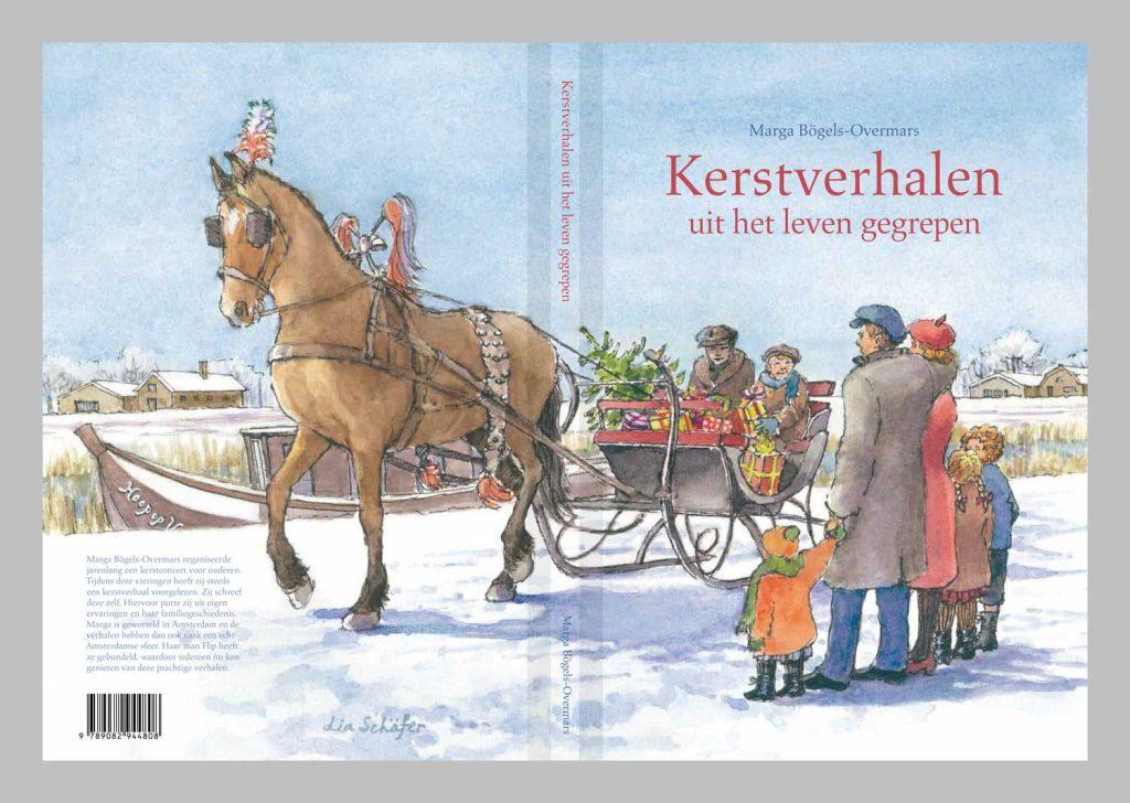 Illustratie omslag Kerstboek