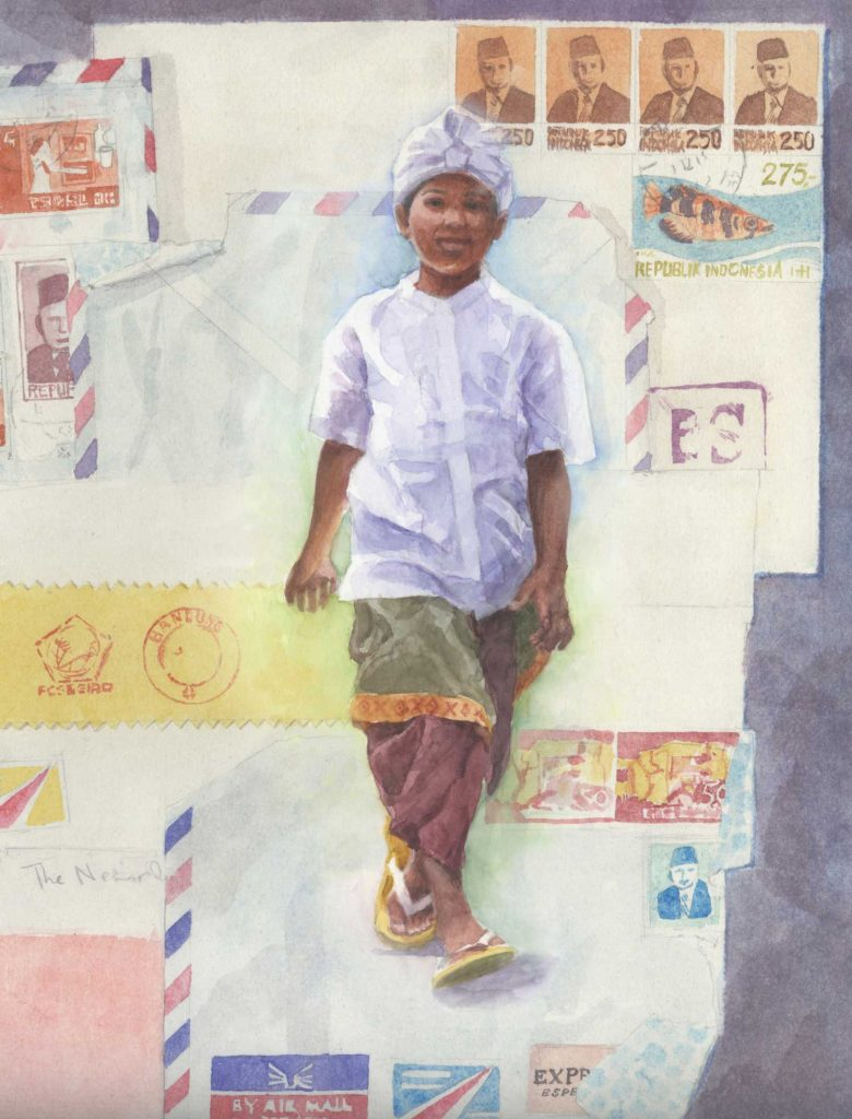Vrij Werk Bali boy