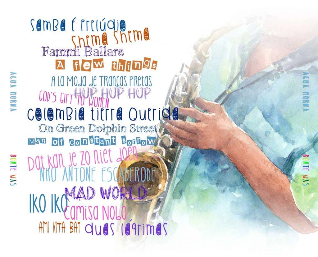 illustratie Agua-Morna cd hoes achterkant